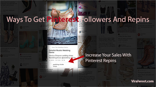 Get Pinterest followers and likes